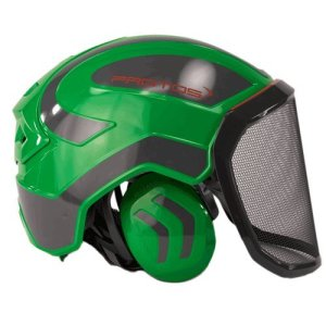 Protos Integral Arborist Helmet - Green & Grey