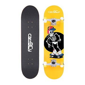 Pro Complete Skateboard, 7 Layer Canadian Maple