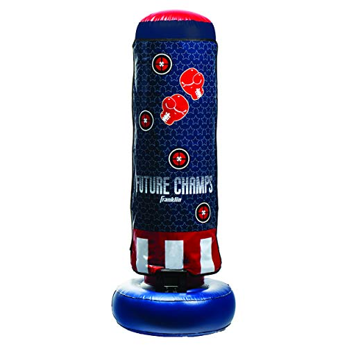Franklin Sports Inflatable Electronic Boxing Bag