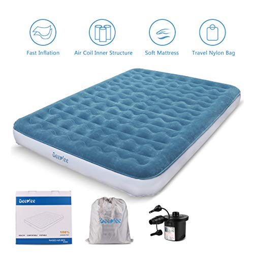 Blow up bed Inflatable Mattress with Rechargeable Air Pump
