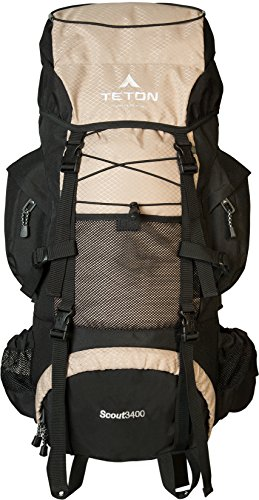 High-Performance Backpack for Backpacking, Hiking, Camping