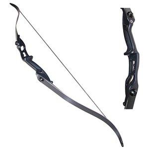 "Archery 56"" Takedown Hunting Recurve Bow Metal Riser"