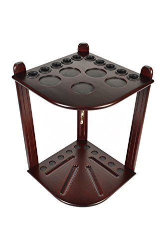 Billiard Stick & Ball Floor Rack  10 cue and ball flooring rack - Made from wooden