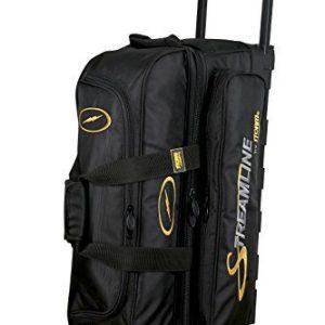 Storm Streamline 3 Ball Roller Bowling Bag Black