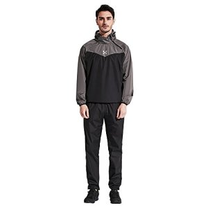Sauna Suit Men Weight Loss Gym Suit Workout Fitness