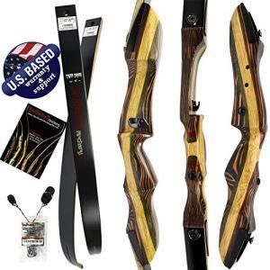 "Southwest Archery Tigershark Takedown Recurve Bow – 62"" Recurve"
