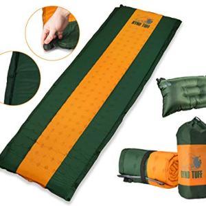 Self Inflating Sleeping Pad with Free Bonus Camping Pillow