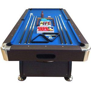 8' Feet Billiard Pool Table with Automatic Ball Return