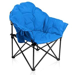 ALPHA CAMP Oversized Camping Chairs Padded