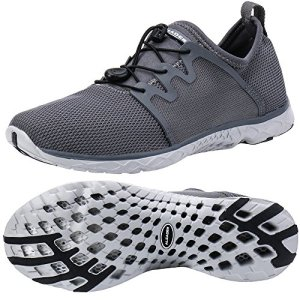 ALEADER Men's Outventure Quick Drying Aqua Water Shoes