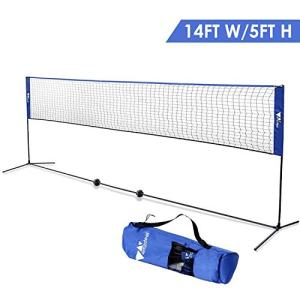 Badminton Net - Portable Net for Kids Volleyball, Tennis, Pickleball