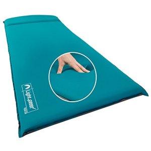 Super Plush FlexForm Premium Self-Inflating Sleep and Camp Pad