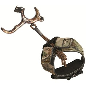 Scott Archery Longhorn Hunter Release, 3 Finger, Realtree AP