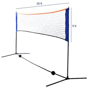 Volleyball/Badminton Set Includes 20 - Foot Net