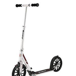 Razor A6 Kick Scooter, Silver