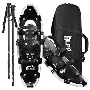 """ALPS Adult All Terrian Snowshoes Set for Men,Women,Youth with Trekking Poles,Carrying Tote Bag14 /17"""" / 22""""/25""""/27""""/30"""""""