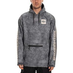 686 Men's Pullover Waterproof Hoody - Softshell Fleece Lined Fabric