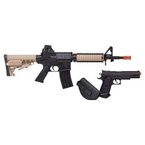 Game Face GameFace Airsoft Kit GFR37PKT Spring Powered, Single Shot Rifle & Pistol Kit