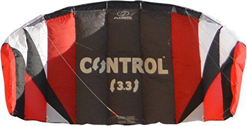 FLEXIFOIL 1.7m2 / 2.4m2 / 3.3m2 Control Kitesurf Trainer Kite inc. Bar and Lines