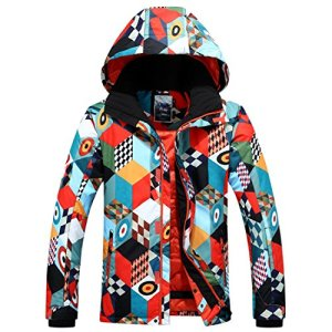 APTRO Men's High Tech Ski Jacket Waterproof Windproof Snowboard Mountain Rain Coat