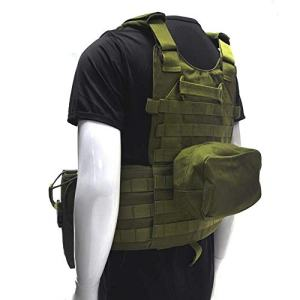 Fouos Tactical Vest 600D Modoular Protective Durable Waistcoat for Airsoft Wargame Hunting and Outdoor Sports Activities
