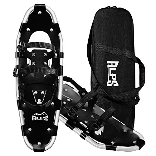 """ALPS Adult All Terrian Snowshoes for Men, Women, Youth with Carrying Tote Bag 22""""/25""""/27""""/30"""""""