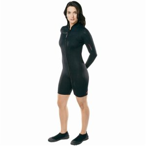 Henderson Thermoprene 3mm Womens Front Zip LS Jacket
