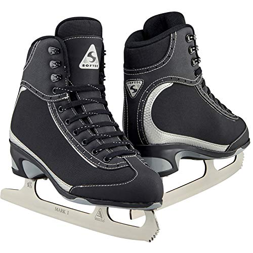 Jackson Ultima Softec Vista ST3201 Figure Ice Skates for Girls/Color: Black, Size: Youth 2