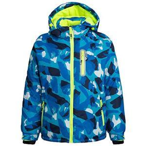 FARVALUE Boy's Waterproof Winter Coat Mountain Snow Ski Fleece Jacket Thick Warm Detachable Hood Windproof Rain Coats