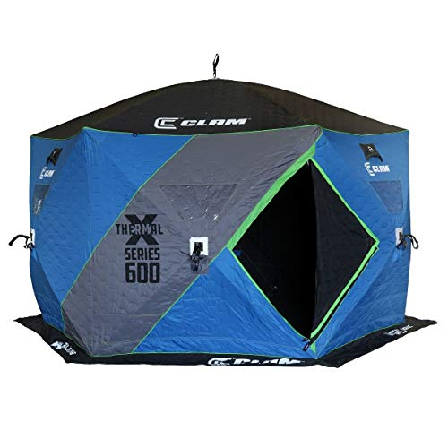 Clam 114470 X600 Thermal - 6 Side Hub Shelter