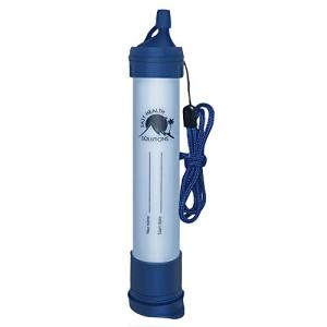 EHS Personal Water Filter Straw Portable Filtration to Purify Gallons for Camping, Hiking, Scouting, Hunting, Survival, Emergencies and Backpacking Gear