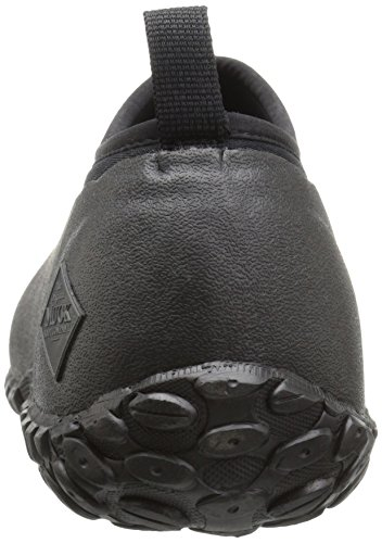 Muck Boot Muckster Ll Men's Rubber Garden Shoes 4 mm neoprene provides comfort and flexibility, along with excellent waterproofing, shock absorption and heat retention properties; adjusts to your foot shape to resist blisters and chafing  Stretch-fit Comfort Topline is curved to improve range of motion, and snugs calf to seal in warmth while keeping cold and debris out  Breathable Airmesh lining wicks away humidity and perspiration, and allows air to travel throughout the boot; comfort rated from subfreezing to 65 °F/18 °C