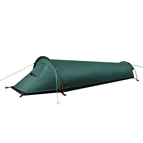 LytHarvest Ultralight Bivvy Bag Tent, Compact Single Person Backpacking Bivy Tent Military - 100% Waterproof Sleeping Bag Cover Bivvy Sack for Outdoor Survival, Bushcraft