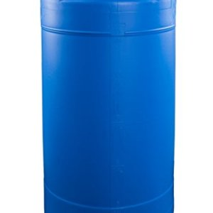 15 Gallon Emergency Water Storage Barrel - BPA Free, Portable, Food Grade Plastic - Survival Preparedness Water Supply