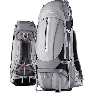 Ghostek NRGcamper Hiking Camping Backpack + 11W Solar Panel