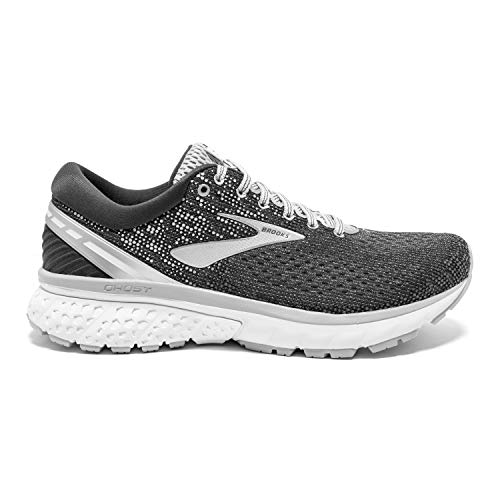 """Brooks Womens Ghost 11 Running Shoe SHOE SIZE: """"B"""" = Medium width, """"D"""" = Wide width  FOOT SUPPORT: Ideal for runners with a medium to high arch looking for neutral support.  BALANCED, SOFT CUSHIONING: BioMoGo DNA and DNA LOFT cushioning work together to provide a just-right softness underfoot without losing responsiveness and durability-yet it feels lighter than ever."""