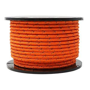 GM CLIMBING Reflective Utility Cord High Strength Hi-Vis Less Stretch Guyline for Tent Tarp Hammock Rigging Outdoor General Use