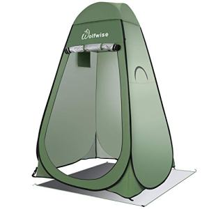 WolfWise Pop Up Privacy Shower Tent Portable Outdoor Sun Shelter Camp Toilet Changing Dressing Room