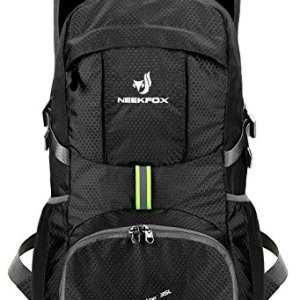 NEEKFOX Lightweight Packable Travel Hiking Backpack Daypack,35L Foldable Camping Backpack, Ultralight Outdoor Sport Backpack