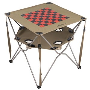 ALPS Mountaineering Eclipse Table, Checkerboard,27-Inch x 27-Inch x 26-Inch
