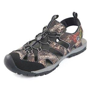 Northside Mens Burke II Sport Athletic Sandal, Brown Camo, 12 M US
