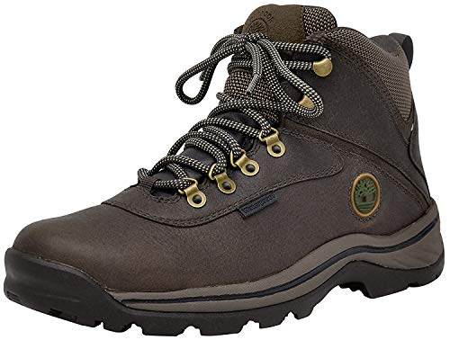 Timberland Men's White Ledge Mid Waterproof Boot,Dark Brown,7.5 W US