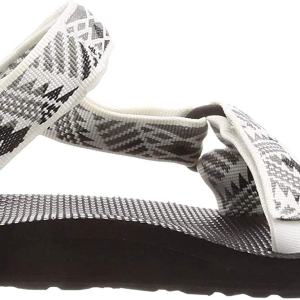 Teva Women's W Original Universal Sandal, Boomerang White/Grey, 10 Medium US
