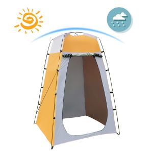 Shower Tent Quick Set Up Privacy Tent Dressing Tent, Waterproof Portable Up Toilet Tents for Camping, Beach Changing Room Shelter Canopy 47.2X47.2X70.8 Inches Include Tent Peg, Pole, Rope, Storage Bag