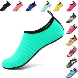 VIFUUR Water Sports Unisex Shoes Green - 9-10 W US / 7.5-8.5 M US (40-41)