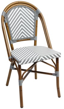 amalfi outdoor wicker caf chair
