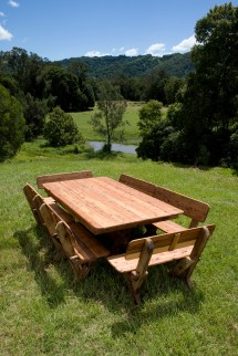 Yamba Cypress Outdoor Timber Table - Furniture