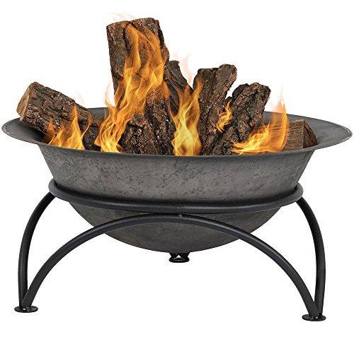 Dark Outdoor Fireplaces