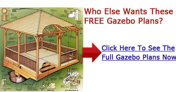 Download Wood Gazebo Plans Plans Free Bird House Plan Made
