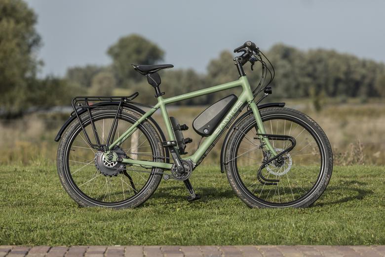 De Santos Travel Lite+ E-Bike. Een maatwerk vakantiefiets met elektrische ondersteuning.